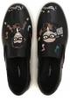 Slip-on Dolce&Gabbana da uomo in pelle nero