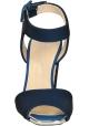 Sandali tacco alto Giuseppe Zanotti in tessuto tecnico blu