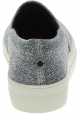 Steve Madden Scarpe slip-on fashion da donna in tessuto tecnico argentato