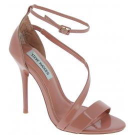 Steve Madden Sandali tacco alto donna cinturino alla caviglia in vernice rosa