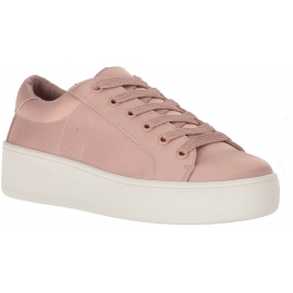 Steve Madden Scarpe Sneakers fashion platform basse da donna in raso rosa