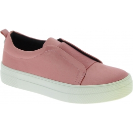 Steve Madden Scarpe slip-on platform senza lacci fashion donna in raso rosa