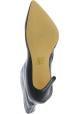 Steve Madden Stivaletti alla caviglia tacco a spillo donna in vernice nera