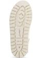 Marsèll Stivaletti alla caviglia donna con lacci camoscio bianco made in Italy