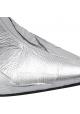 Maison Margiela Stivaletti caviglia a punta tacco donna pelle sintetica argento