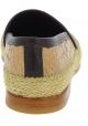 Dolce&Gabbana Mocassini fashion da uomo in pelle di coccodrillo beige viola