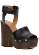 Sandali 'Sofia' Givenchy in Pelle di vitello nero