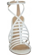 Sandali tacco alto Gianvito Rossi in Pelle bianco