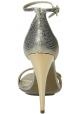 Sandali tacco alto Lanvin in Pelle di vitello metallico