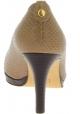 Stuart Weitzman Decoltè da donna spuntate con tacco in pelle di rettile beige