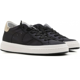 Sneakers Philippe Model donna in pelle nero