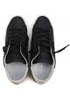 Sneakers Philippe Model donna in pelle nero