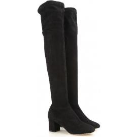 Stivali sopra al ginocchio Dolce&Gabbana in pelle nero