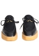 Stringate con zeppa Stella McCartney donna nero