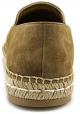 Espadrillas donna Prada a punta in camoscio cammello
