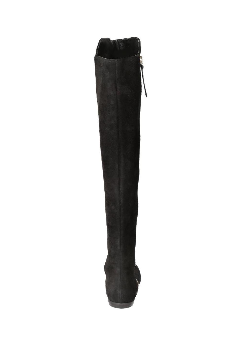 Stivali sopra al ginocchio Giuseppe Zanotti in pelle nero - Italian ... 51b57091a4b