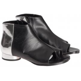 Stivaletti alla caviglia Maison Margiela in pelle nero