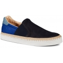Sneakers Hogan R260 slip-on in suede blu scuro