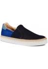 Sneakers Hogan R260 slip-on in suede blu scuro