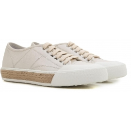 Sneakers basse Tod's donna in pelle bianco