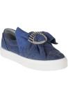 Sneakers slip-on Chiara Ferragni in tessuto blu