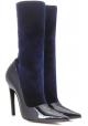 Balenciaga Stivaletti mezzo polpaccio in vernice blu