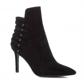 Stivaletti alla caviglia Kendall+Kylie in pelle scamosciata nero