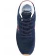 Sneakers Hackett uomo in pelle e tessuto blu
