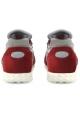 Sneakers Valentino uomo in pelle scamosciato bordò e tessuto