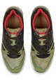 Sneakers Diadora N9000 uomo in pelle scamosciato cachi