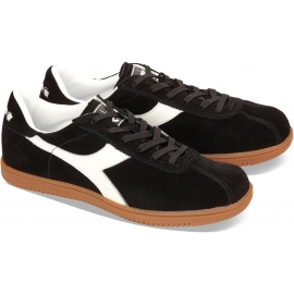 Sneakers Diadora Tokio uomo in pelle scamosciato nero