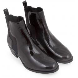 Stivaletti alla caviglia Pierre Hardy in vernice nero