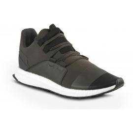 Sneakers Y-3 uomo in tessuto tecnico cachi