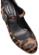 Mary Jane Dolce&Gabbana in cavallino leopardato