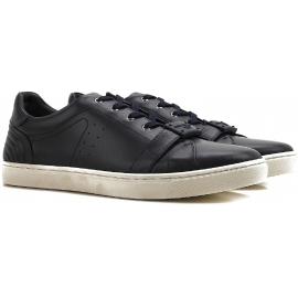 Sneakers Dolce&Gabbana uomo in pelle di vitello nero