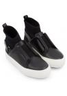 Sneakers alte Pierre Hardy donna in pelle nero