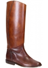 Stivali al ginocchio Golden Goose in Pelle color Cuoio