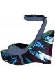 Zeppe multicolore Barbara Bui in vera pelle