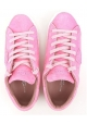 Sneakers basse Philippe Model donna in scamosciato rosa