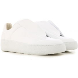 Sneakers future Martin Margiela uomo in pelle bianco