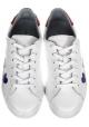 Sneakers Chiara Ferragni in pelle bianco e glitter