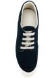 Sneakers basse Hogan uomo in tessuto blu
