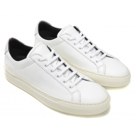 Sneakers Common Projects donna in pelle bianco