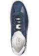 Sneakers Tod's Gommino uomo in pelle e camoscio blu