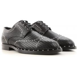 Stringate laser cut Dolce&Gabbana uomo in pelle nero