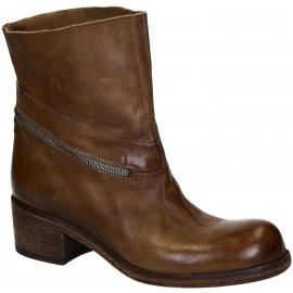 Stivaletti alla caviglia Vic Matié in pelle marrone