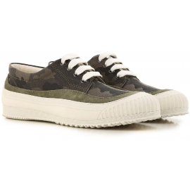 Sneakers basse Hogan donna in in tessuto mimetico
