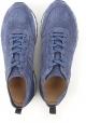 Sneakers Hogan uomo in pelle scamosciata blu