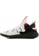 Y-3 Sneakers uomo in tessuto tecnico bianco con suola nera in gomma