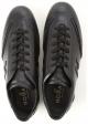 Hogan OLYMPIA SLASH Sneakers bassa da uomo in pelle nera